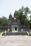 Chiny i Azja, Pekin Wangfujing kościół katolicki Wschodni kościół Obrazy Stock