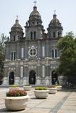 Chiny i Azja, Pekin Wangfujing kościół katolicki Wschodni kościół Fotografia Stock