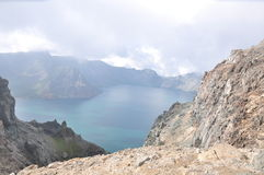 Chiny, Jilin prowincja, changbai góra Zdjęcie Royalty Free