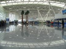 chiny Jinan na lotnisko międzynarodowe Zdjęcie Stock