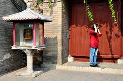 Chiny - lato pałac Obraz Stock