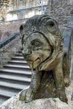 chiny lwa zwolnień kamień Nanjing Zdjęcia Royalty Free