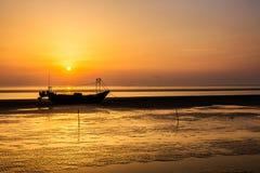 Chiny morze wschodnio-chińskie nabrzeżna plażowa sceneria Zdjęcia Royalty Free