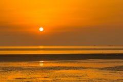 Chiny morze wschodnio-chińskie nabrzeżna plażowa sceneria Obraz Stock
