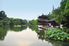 Chiny ogród Obrazy Royalty Free