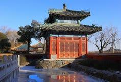 Chiny ogród, Beihai park, Pekin Zdjęcia Royalty Free