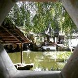 Chiny parka natury jezioro Fotografia Royalty Free