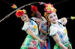 Chiny, Pekin opery tana występy Zdjęcie Royalty Free