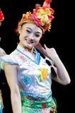 Chiny, Pekin opery tana występy Zdjęcia Royalty Free