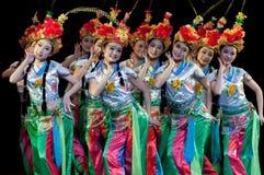 Chiny, Pekin opery tana występy Zdjęcia Stock
