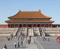 Chiny Pekin zakazane miasto Cesarscy pałac Ming, Qing dynastie w i Obrazy Royalty Free