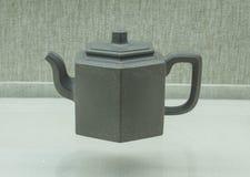 Chiny piaska purpurowy teapot Obraz Royalty Free