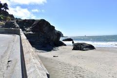 Chiny plaża chowany klejnot golden gate Krajowy Rekreacyjny teren, 10 zdjęcia royalty free