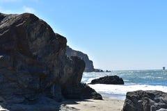 Chiny plaża chowany klejnot golden gate Krajowy Rekreacyjny teren, 11 fotografia stock
