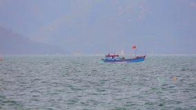 Chiny Południowi Denne Drewniane łodzie rybackie Wietnam zdjęcie wideo