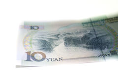 Chiny RMB, JUAN banknoty Zdjęcia Royalty Free