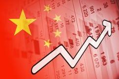 Chiny rynek fotografia royalty free