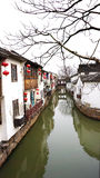 Chiny sławny antyczny miasto Suzhou Obrazy Royalty Free