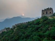 chiny wielki mur Zdjęcia Royalty Free