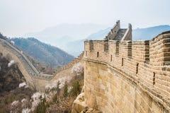 Chiny, wielki mur Chiny Fotografia Royalty Free
