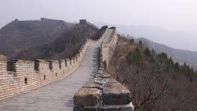 chiny wielki mur zbiory wideo