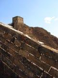 chiny wielki mur. Obraz Royalty Free