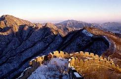 chiny wielki mur. zdjęcie royalty free