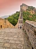 chiny wielki mur. Zdjęcia Royalty Free