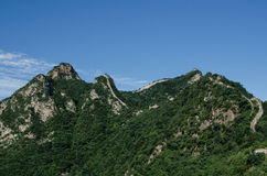 chiny wielki mur Zdjęcie Royalty Free