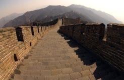 chiny wielki mur. Fotografia Royalty Free