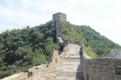 chiny wielki mur Fotografia Royalty Free