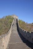 chiny wielki mur Mutianyu Obrazy Stock