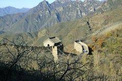 chiny wielki mur Mutianyu Obraz Stock