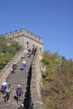 chiny wielki mur Mutianyu Zdjęcia Stock