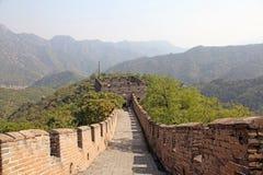 chiny wielki mur Mutianyu Zdjęcia Royalty Free