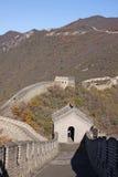 chiny wielki mur Mutianyu Wierza Zdjęcia Royalty Free
