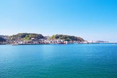 Chinzei, de stad in Karatsu, Saga, Japan wordt gevestigd dat royalty-vrije stock afbeeldingen