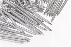 Chiodi del calcestruzzo d'acciaio Fotografie Stock Libere da Diritti