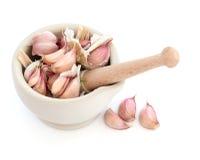 Chiodi di garofano dell'erba dell'aglio Immagine Stock