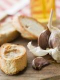 Chiodi di garofano della diffusione arrostita dell'aglio Fotografia Stock Libera da Diritti