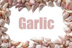 Chiodi di garofano di aglio Immagini Stock