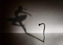 Chiodo e un danzatore Fotografie Stock