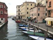 Chioggia, около Венеции Стоковое Изображение