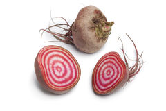 Chioggia beets Royalty Free Stock Photos