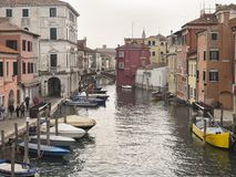 Chioggia, dichtbij Venetië Royalty-vrije Stock Fotografie