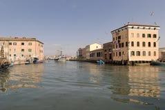 Chioggia, Italia Fotografie Stock Libere da Diritti