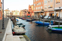 Chioggia, Italien Stockfotografie