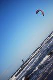 chioggia kitesurfing ближайше Стоковое Фото