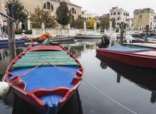 Chioggia nära Venedig fotografering för bildbyråer