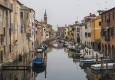 Chioggia, perto de Veneza Imagens de Stock Royalty Free